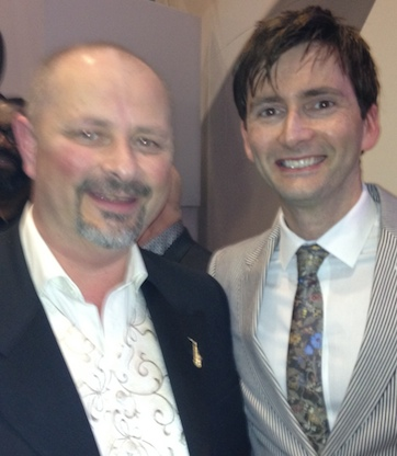 Lee Sullivan with David Tennant